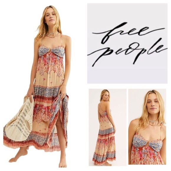 Free People Dresses & Skirts - Free People || Give A LIttle Maxi Dress